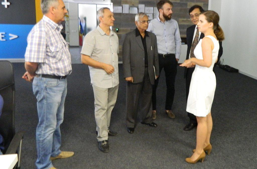"""Vizita unui grup de businessmeni din India în cadrul PI """"TRACOM"""" — rezultat comun al Parteneriatului CCIM și SA """"TRACOM"""""""