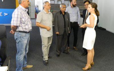 """Vizita unui grup de businessmeni din India în cadrul PI """"TRACOM"""" – rezultat comun al Parteneriatului CCIM și SA """"TRACOM"""""""