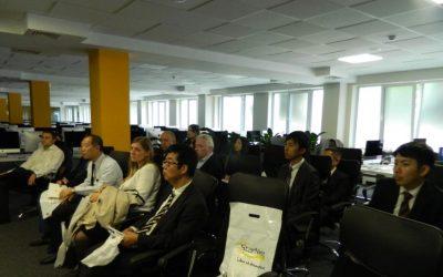 """Experiența PI """"TRACOM"""" în vizorul oamenilor de afaceri din Japonia."""