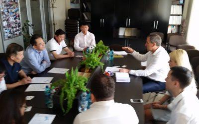 """Delegația Republicii Populare Chineze în vizită la PI """"TRACOM"""": radiografie pentru un Proiect investițional de anvergură,- crearea unei centrale fotovoltaice."""